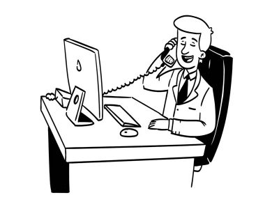 BBK Partnership - Man on phone