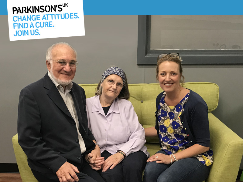 Parkinson's West Herts - David Hilary Vicky