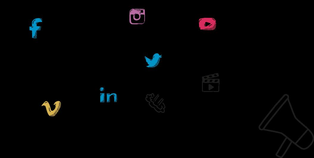 Social Media Icons and random icons